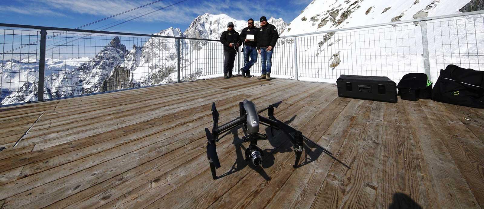 i professionisti dei droni
