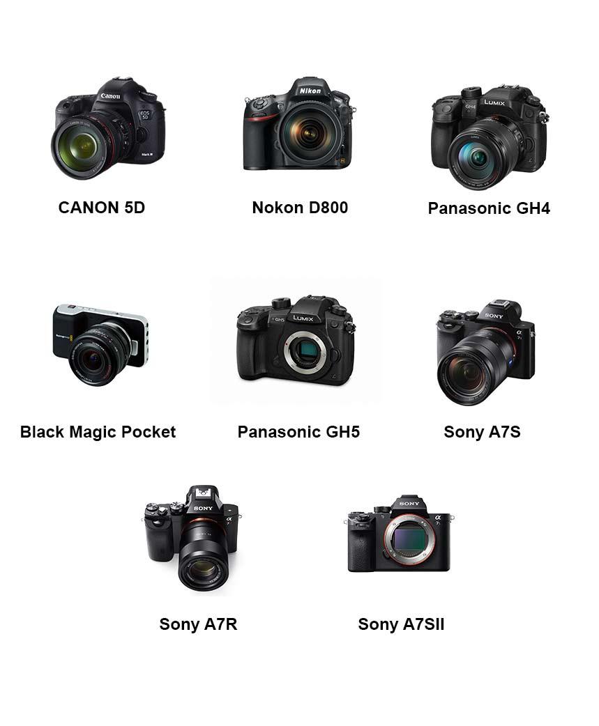 Noleggio droni per riprese cinematografiche e televisive. Fotocamere Reflex e Mirrorless supportate dal DJI Matrice 600 Pro